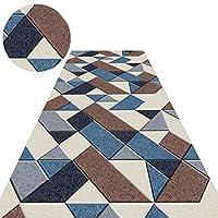 廊下敷きカーペット ビンテージ ランナーラグ カーペット 幾何学模様のデザイン、 廊下 滑り止め フロアマット、 60cm / 70cm / 80cm / 100cm / 110cm / 120cmワイド (Size : 120x160cm)