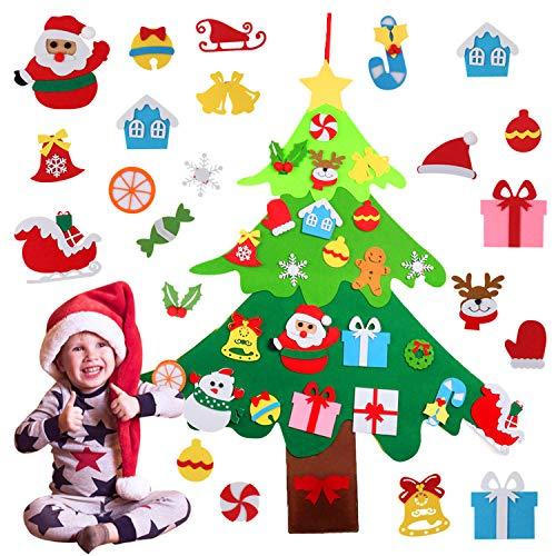 Joyibay Árbol de Navidad de Fieltro Árbol de Navidad de