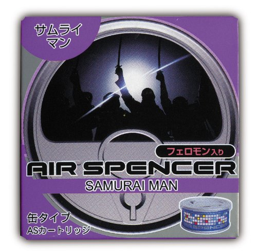 Air Spencer Eikosha Duft Auto Deo Patrone jede Art Nachfüllung Samurai Man 40g A37