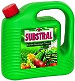 Substral Garten-Universal-Dünger, Spezial-Flüssigdünger für alle Blumen, Sträucher, Bäume, Beeren, Obst und Gemüse, 4 Liter Kanister