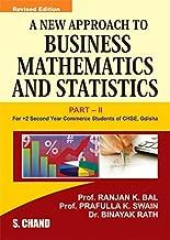 A NEW APPLICATION TO BUSINESS MATHEMATICS & STATISTICS-II