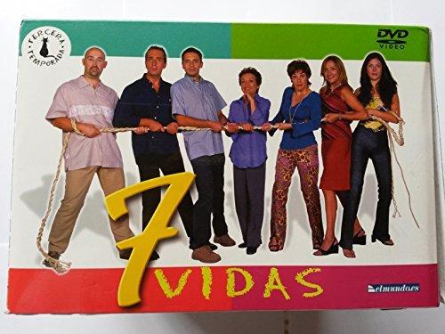 7 Vidas Tercera Temporada Completa DVD