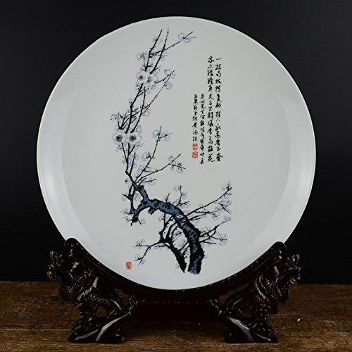 Hlluya Professionele Sink Mixer Tap Jingdezhen keramiek vazen schommelen in de woonkamer Chinese, bamboe daisy porselein dienblad decoratieve plaat ornamenten, Phillips decoratieve lade voeding Mixer stand