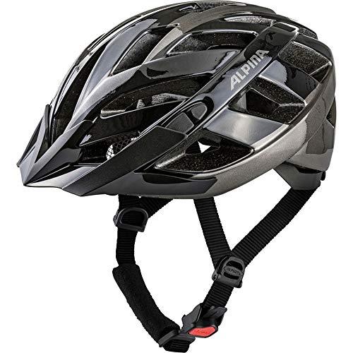 ALPINA Fahrradhelm Panoma 2.0 Gr.52-57cm schwarz anthrazit ca 255g + Flicken