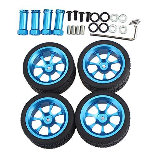 Hellery Kits de Actualización de Neumáticos de Llanta de Goma RC para Coche WLtoys 144001 124018 124019