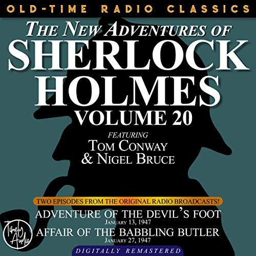 Couverture de The New Adventures of Sherlock Holmes, Volume 20
