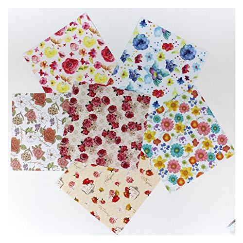 ¡Caliente!Hermosa Acuarela Origami Papel Partido Decoración DIY Flores Artesanía Papel de Regalo 15x15 cm 120pcs / Lot Rose Flower