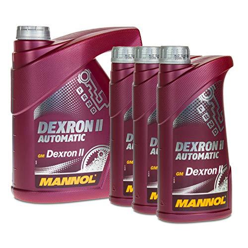 MANNOL 4+3 (7 Liter) DEXRON II ATF GETRIEBEÖL