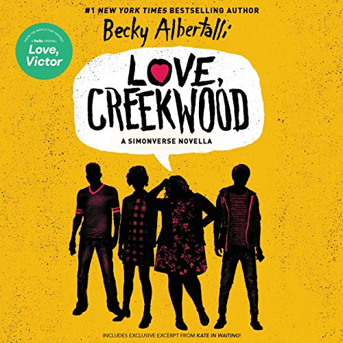 Love, Creekwood audiobook cover art