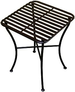 PTC Home & Garden Park Square Side Table, Black