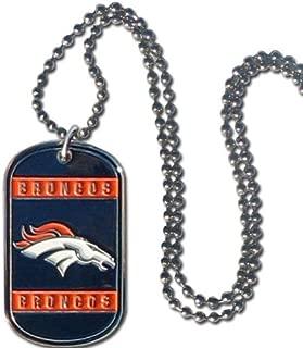 NFL Denver Broncos Dog Tag Necklace