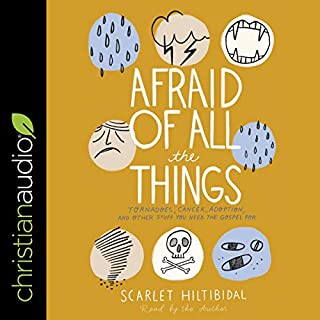 Afraid of All the Things audiobook cover art