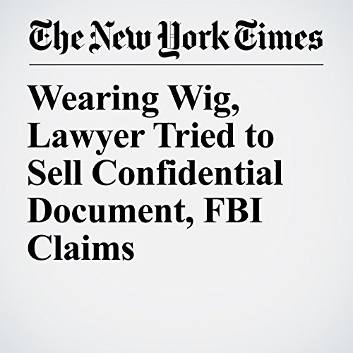 Wearing Wig, Lawyer Tried to Sell Confidential Document, FBI Claims copertina