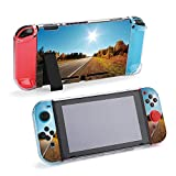 SUPNON Road in Autumn Woods with Colorful Foliage Compatible with Nintendo Switch Console & Joy-Con Protective Case, Durable Flexible Shock-Absorption Anti-Scratch Drop Design34059