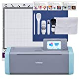 Brother ScanNCut SDX125E Electronic DIY Cutting Machine with Scanner, Make Custom Stickers, Vinyl Wall Art, Greeting Cards and More with 682 Included Patterns