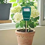 """Gouevn Soil Moisture Meter, Plant Moisture Meter Indoor & Outdoor, Hygrometer Moisture Sensor Soil Test Kit Plant Water… 13 🌼 SIMPLE and EFFECTIVE: Gouevn Soil moisture meter only for testing soil moisture, basic model works stably. Plug and read, responds quickly and provides easily readout. Large dial, ten scales. Includes watering guide for 200 plants printed on the back of the packaging. 🌼 INDOOR & OUTDOOR USE: A super helpful tool for your garden, Yard, lawn, Farm, potted plants etc. Especially is important for some delicate plants which are very sensitive to over or under watering. 🌼 LONG PROBE SENSOR: 7.7"""" probe length specifically designed for measure water at the root level, For use on any plant, even it is big potted plants."""