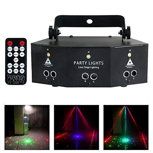 Professional New Nine Eye Strobe Light-Drahtlose Partylichter,DJ Disco Party Lichter,für Party KTV Bar Stage Club Geburtstag Hochzeit Weihnachten