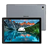 Blackview Tab8 Tablet 10,1 Zoll FHD Android 10 Tablet-PC, 4GB RAM 64GB ROM(TF 128GB), 6580mAh Akku, Octa-Core, 13MP+5MP, 1920 * 1200, Dual SIM, Wi-Fi, Face ID, GPS, Bluetooth, Grau