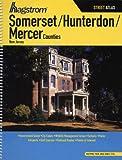 Hagstrom Somerset/Hunterdon/Mercer Counties, New Jersey Street Atlas (Hagstrom Somerset/Hunterdon/Mercer County Atlas)