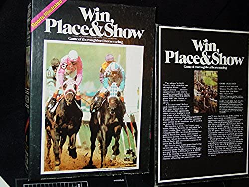 Win Place & Show by  Win, Place & Show