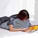 Acid Reflux Wedge Pillow, Bed Wedge Pillow for Sleeping and Support & Elevate Neck, Elevating Legs or Relieving Back Pain, Reading Pillow to Adult Kids, with Removable Washable Cover