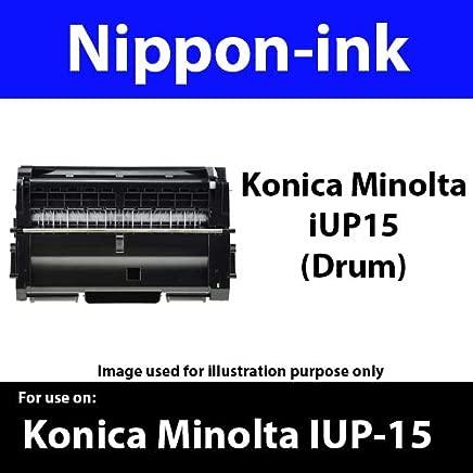 Nippon-ink IUP-15 (Drum) For Use on Konica Minolta Laser Drum - 1500W / 1550/1580 / 1590, Universal