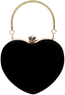 black heart clutch