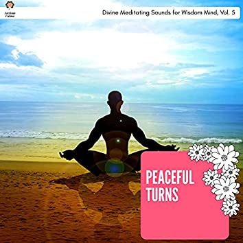 Peaceful Turns - Divine Meditating Sounds For Wisdom Mind, Vol. 5
