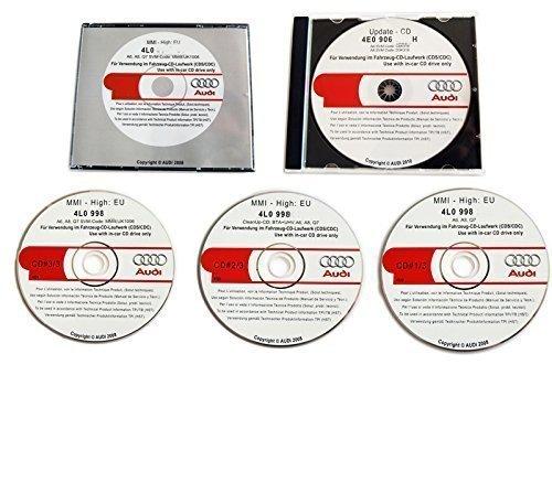 Suwtec MMI Update CDs auf v.5570 für MMI High 2G A4 8K A5 8T, Audi Originalteile