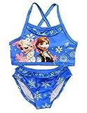 Inception Pro Infinite Costume da Bagno - Elsa & Anna - Adatto a Bambina - Colore Blu - Due Pezzi