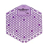 Fre-Pro Urinalsieb Geruchsneutralisator WAVE 3D - 2 Stücke Lavendel (lila) | Wohlriechend Fresh Siebe | Spritzschutz | Verringerung der Schmutzablagerung |100% recyclebar