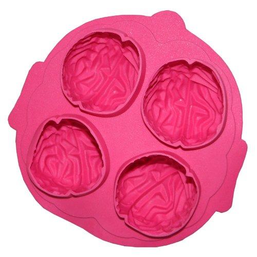 Vierwandtraum: Eiswürfelform Brain für unvergessliche Partys aus Silikon Gehirn Form