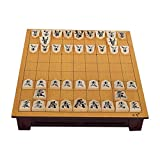 Madera Japón Shogi 27 * 25 * 5cm 40 Unids/Set Damas Internacionales Plegable SHO-gi Ajedrez Mesa de Juego Juguete Regalo Niños Casual Puzzle Party
