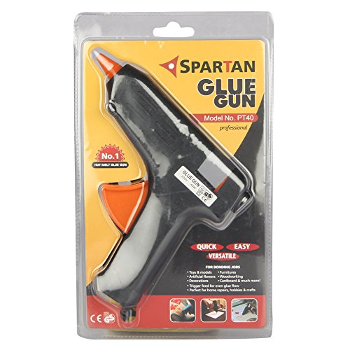 Spartan 40 Watt Glue Gun, PT 40 with 5 Pieces...