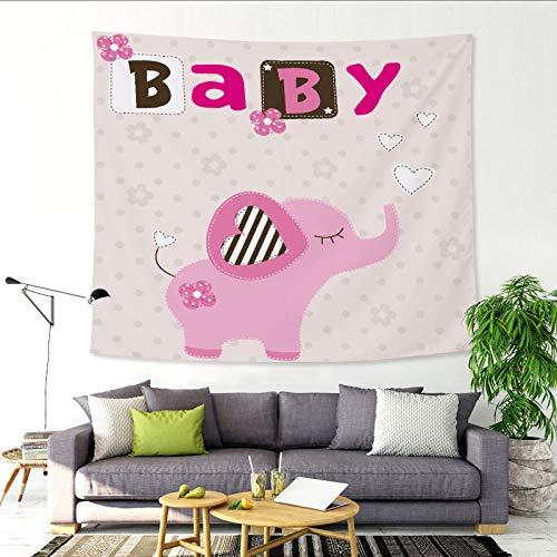 nobranded Cartoon Kleiner Dinosaurier Bär Verdickung Wandteppich hängen Stoff Kinderzimmer Wand Hintergrund Dekoration Wand Tischdecke