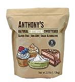 Anthony's Erythritol Granules, Non GMO, Natural Sweetener, Keto & Paleo Friendly, 1.13 Kilogram