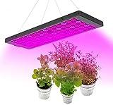 WUAZ LED Grow Light 100W para Plantas De Interior, Espectro Completo con Interruptor Ajustable De Floración Y Verduras, Lámpara De Cultivo con Cadena De Margaritas para Plantas De Interior Flor