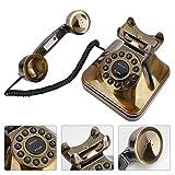 Reducción de Ruido Bronce Tienda de números Antiguos clásicos Teléfono Vintage,...
