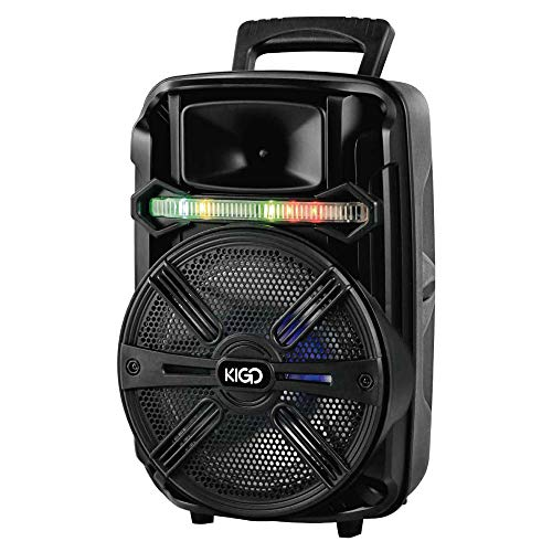 bocina karaoke bluetooth de la marca KIGO