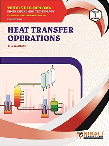 HEAT TRANSFER OPERATIONS - THIRD YEAR DIPLOMA IN CHEMICAL ENGG GROUP - SEMESTER 5