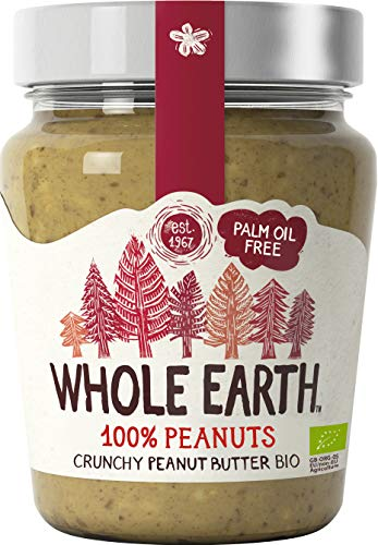 Whole Earth Burro di Arachidi Peanut Butter Croccante Biologico 227g