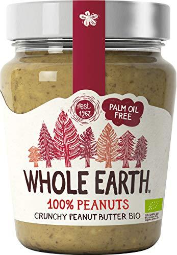 Whole Earth Burro di Arachidi Peanut Butter Croccante Biologico 227g