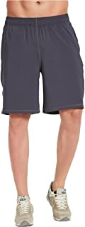 COVISS Men's 10 Athletic Workout Shorts with Mesh Pockets