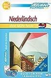 Niederländisch ohne Mühe heute. Multimedia-PLUS. Lehrbuch + 4 Audio CDs + CD-ROM: Selbstlernkurs in deutscher Sprache, Lehrbuch + 4 Audio-CDs + CD-ROM - Leon Verlee
