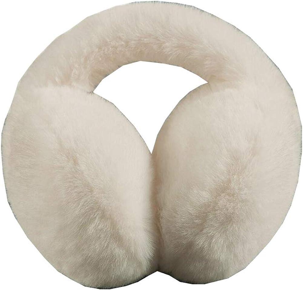 Cute Animal Soft Earmuffs Winter Warm Outdoor Ear Covers Headband Fur Ear warmer,#B10
