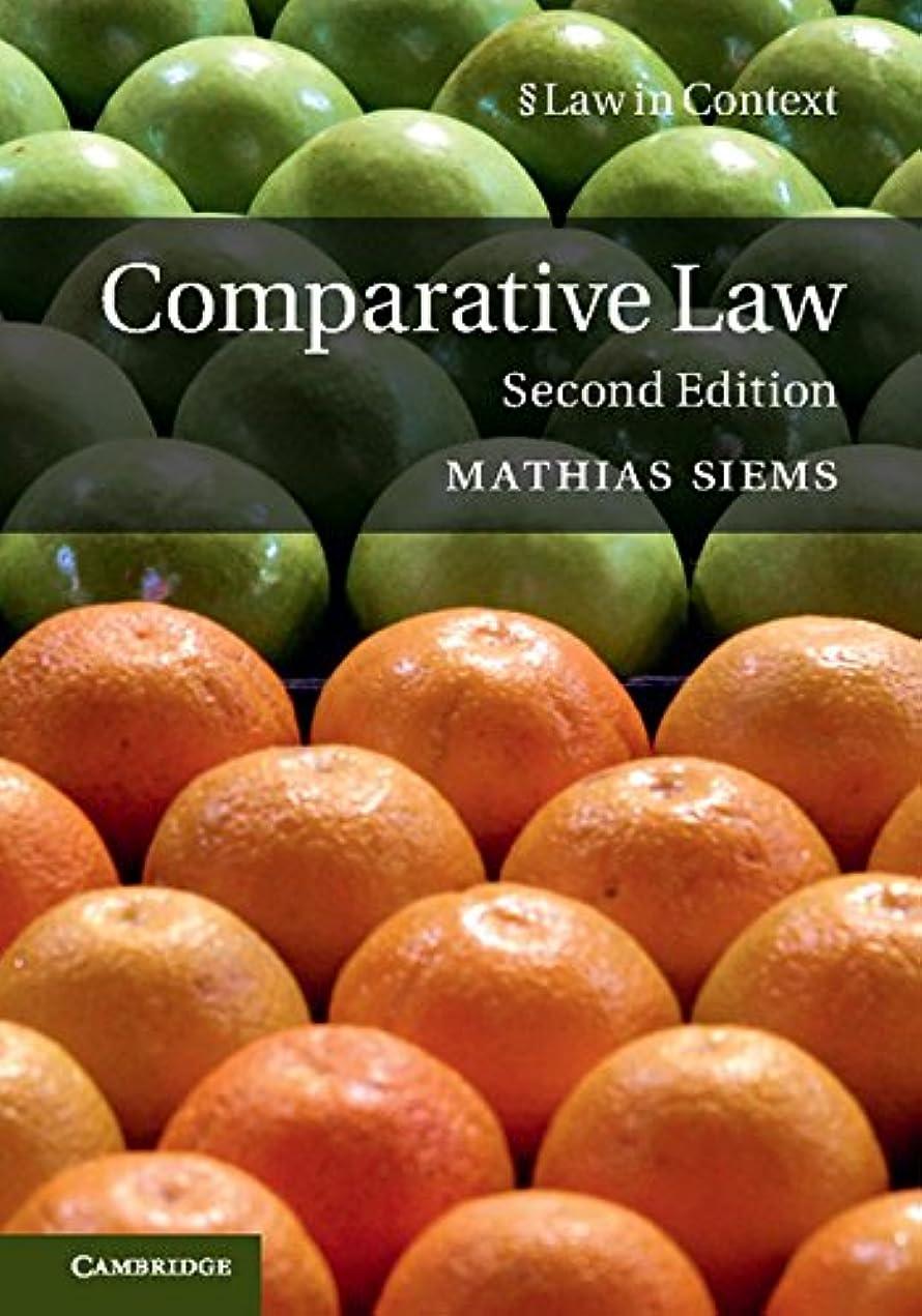 整然とした情報プレートComparative Law (Law in Context) (English Edition)
