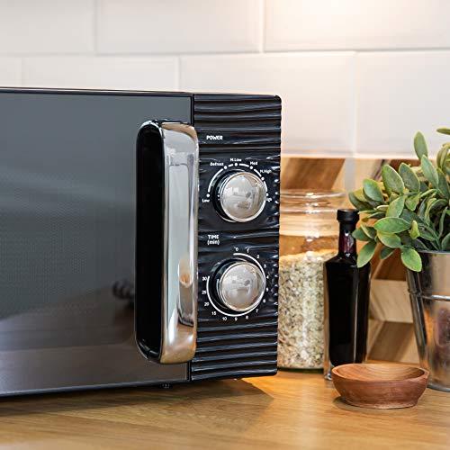 Russell Hobbs RHM1731B INSPIRE Black 17 Litre Manual Microwave
