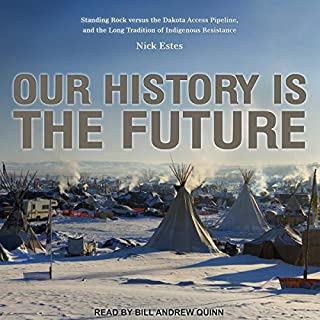 Our History Is the Future audiobook cover art