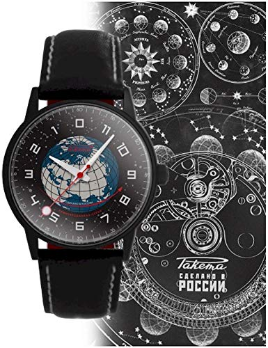 Raketa Código ruso 0229 - Reloj de pulsera unisex W-07-20-10-0229