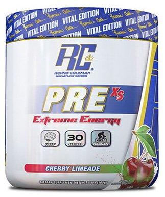 RCSS Pre-XS Pre-Workout Powder Trainingsbooster Booster Bodybuilding 165g (Cherry Limeade)